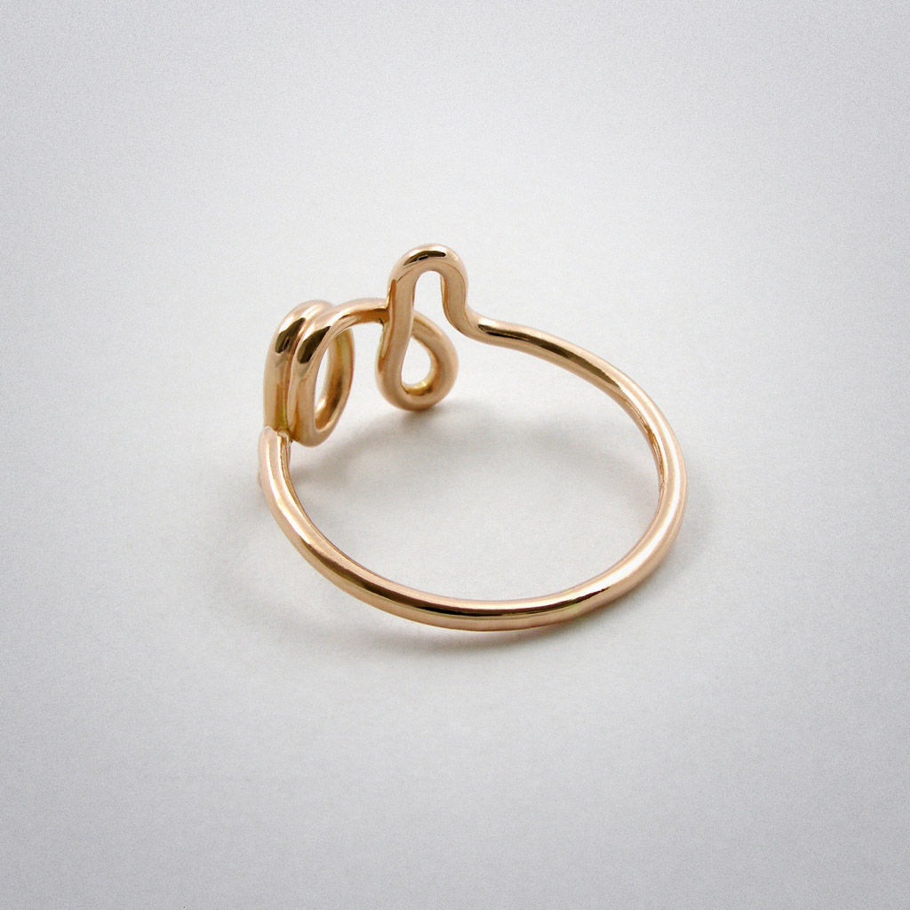 ring - Ja - Rotgold - product images  of