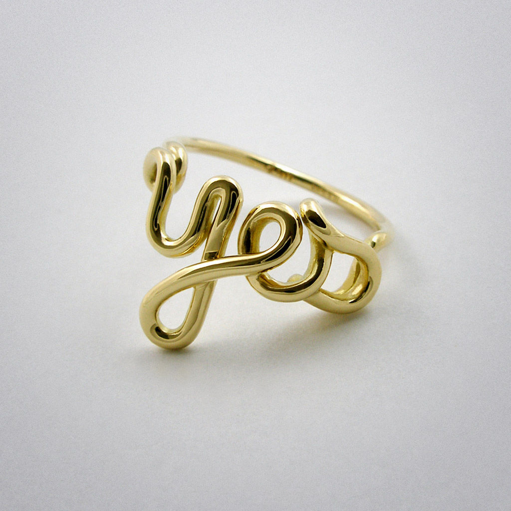 ring - Yes- Gold - product images  of
