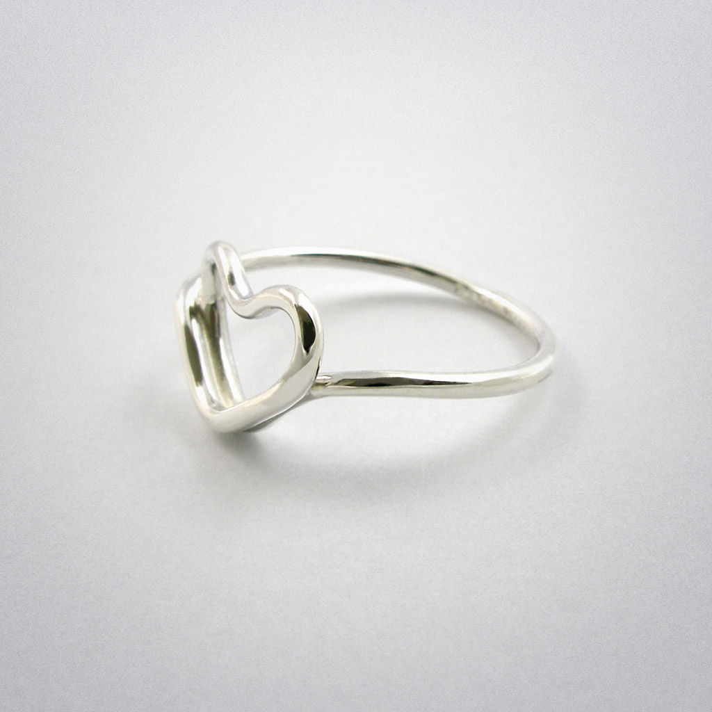 ring - cœur - Silber - product images  of