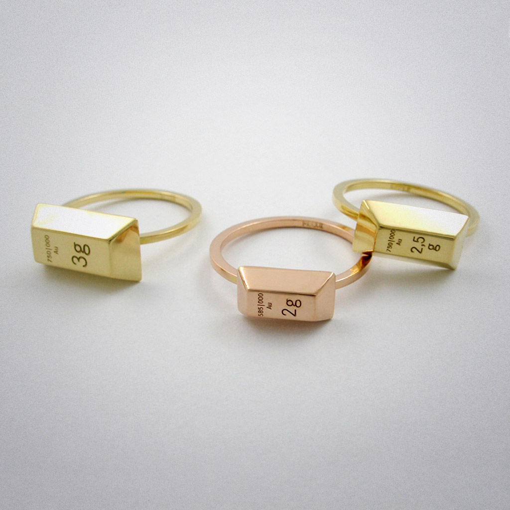 ring - 3g - Gold - product images  of