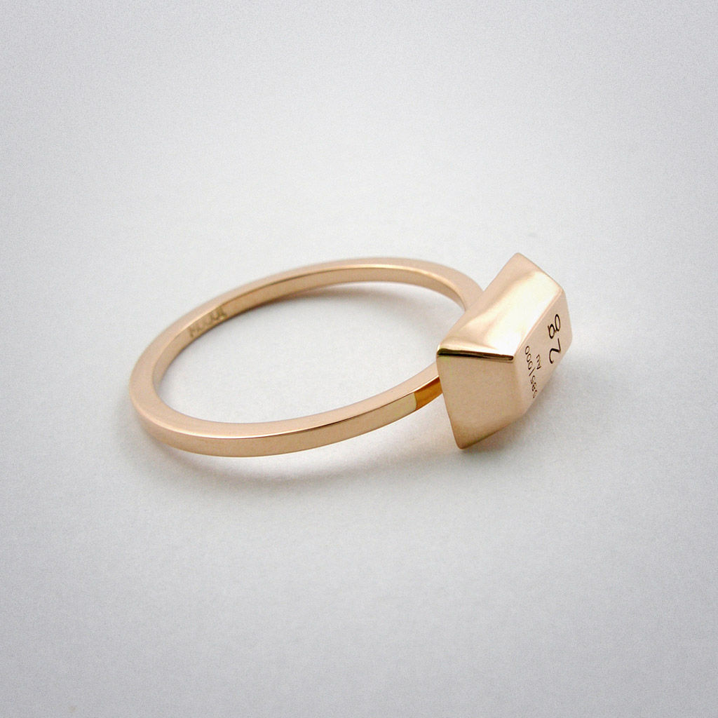 ring - 2g - pink Gold - product images  of
