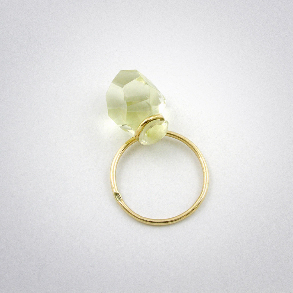 ring - Stein - Lemonquarz - product images  of