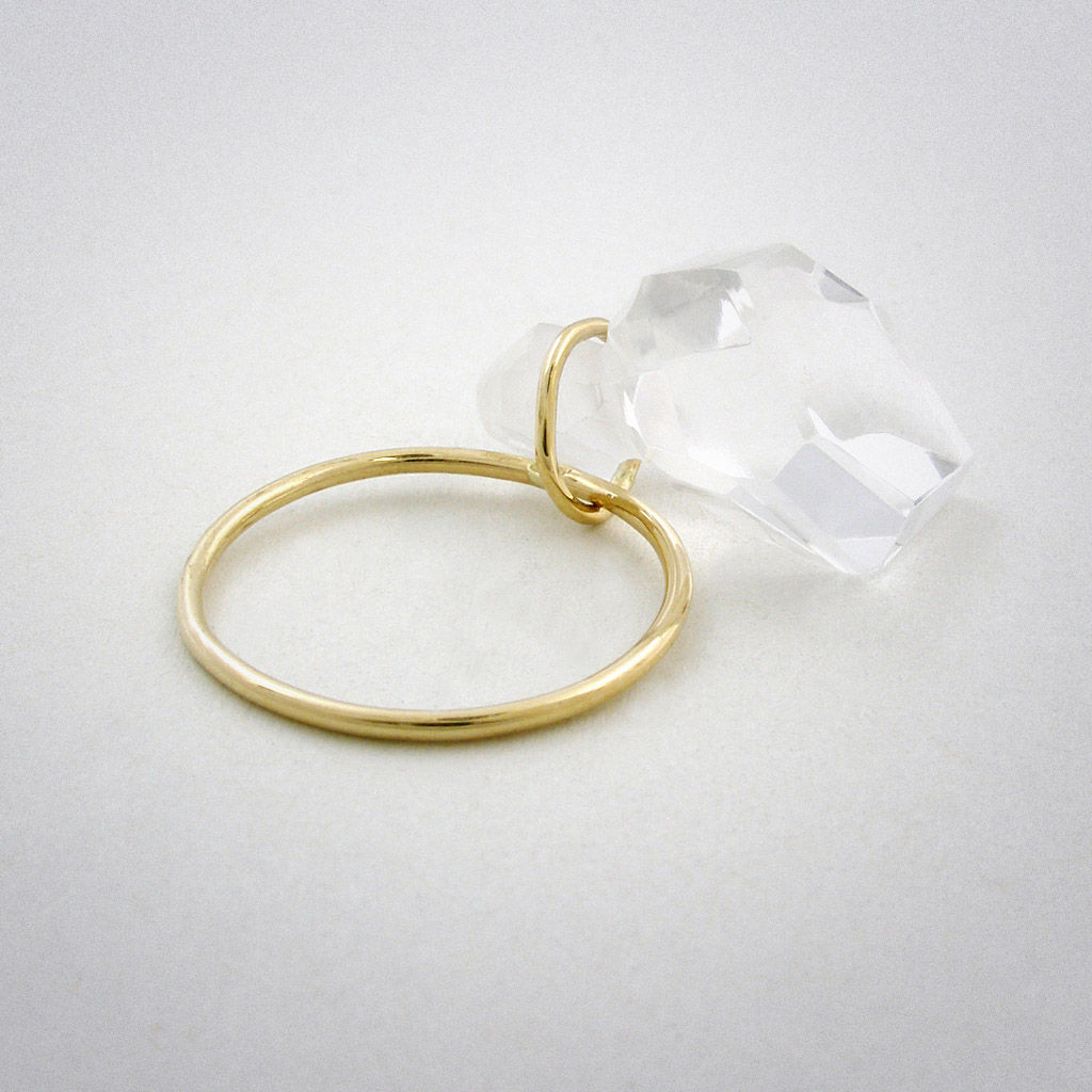 ring - Stein - Bergkristall - product images  of