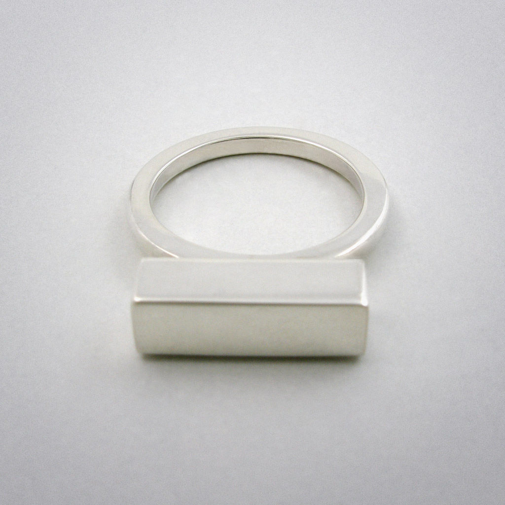 ring - straight five - ag - product images  of