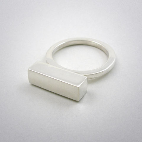 ring,-,straight,five,ag,Ring, 925 Sterling Silber, straight