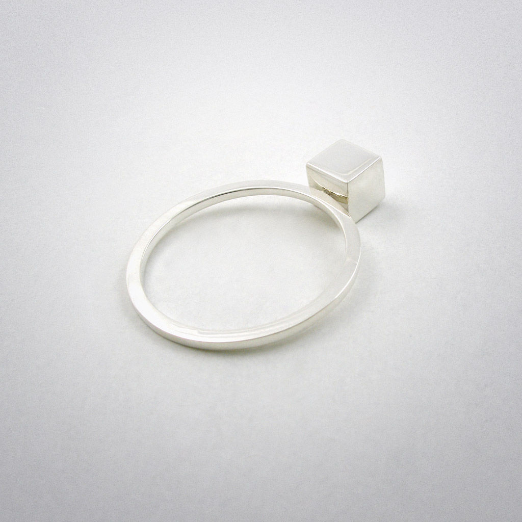 ring - straight two - ag - product images  of