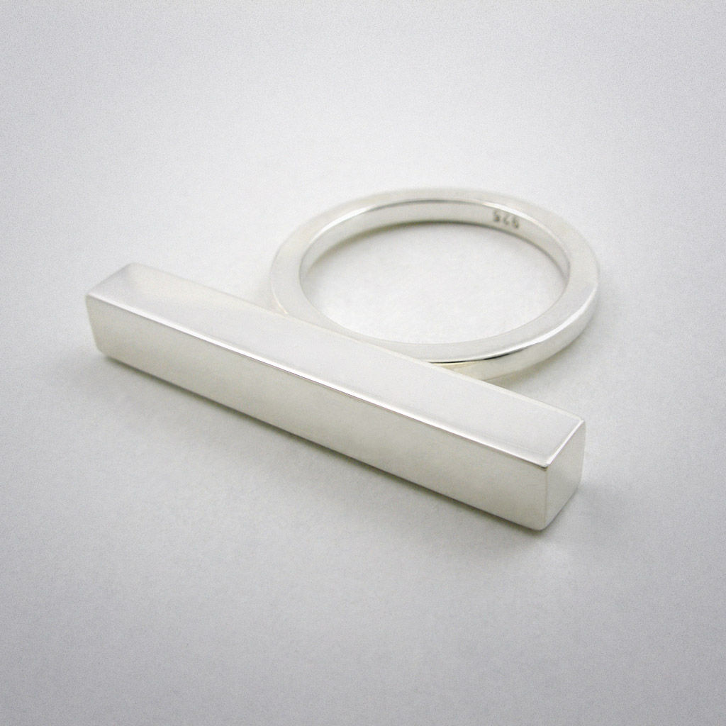 ring - straight one - ag - product images  of