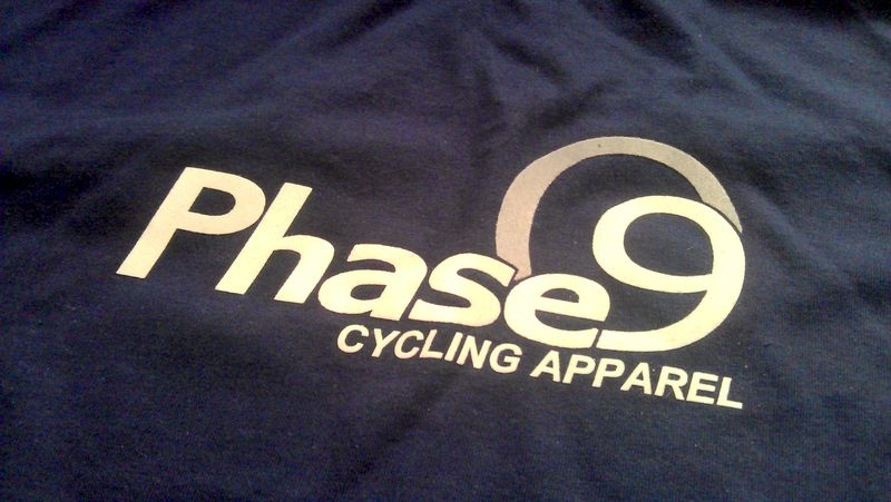 Phase9 Cycling Apparel Logo T-shirt - product images  of