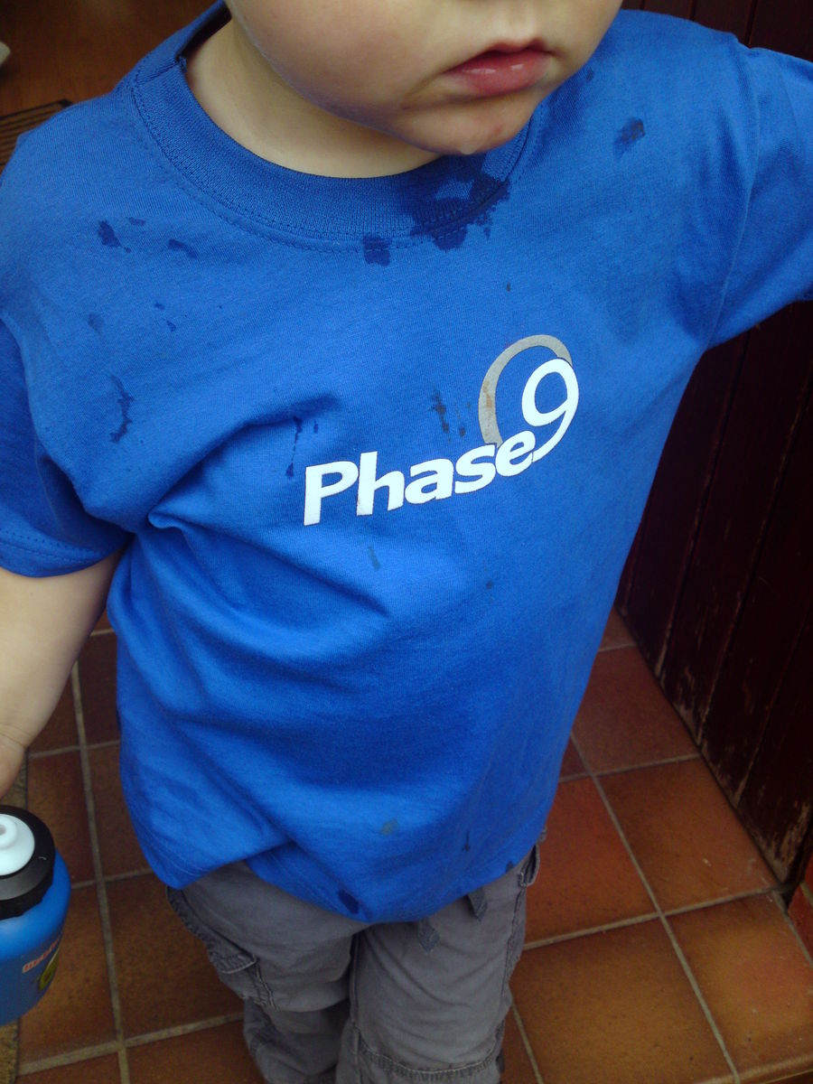 Phase9 Logo Kids T-shirt - product images  of