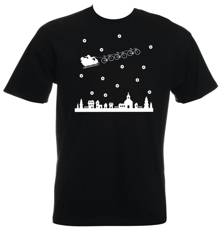 PHASE9 - SANTA CHRISTMAS JUMPER - MEN'S T-SHIRT - product images  of
