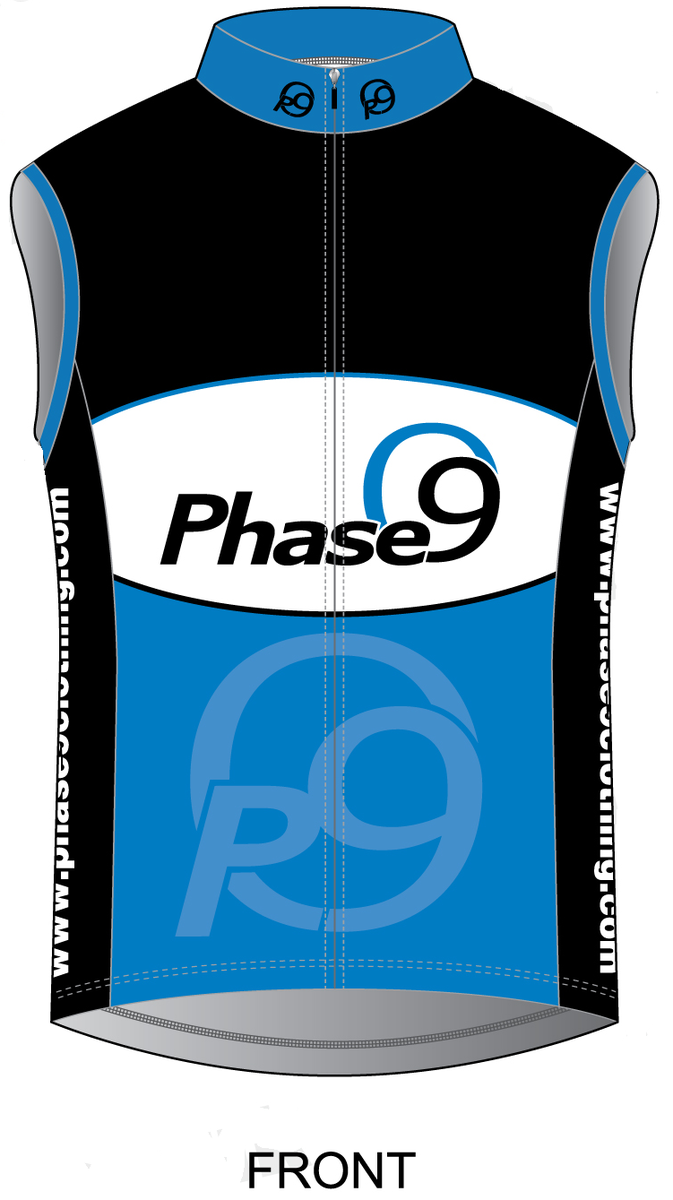 Phase9 Logo Cycling Gilet - product images  of
