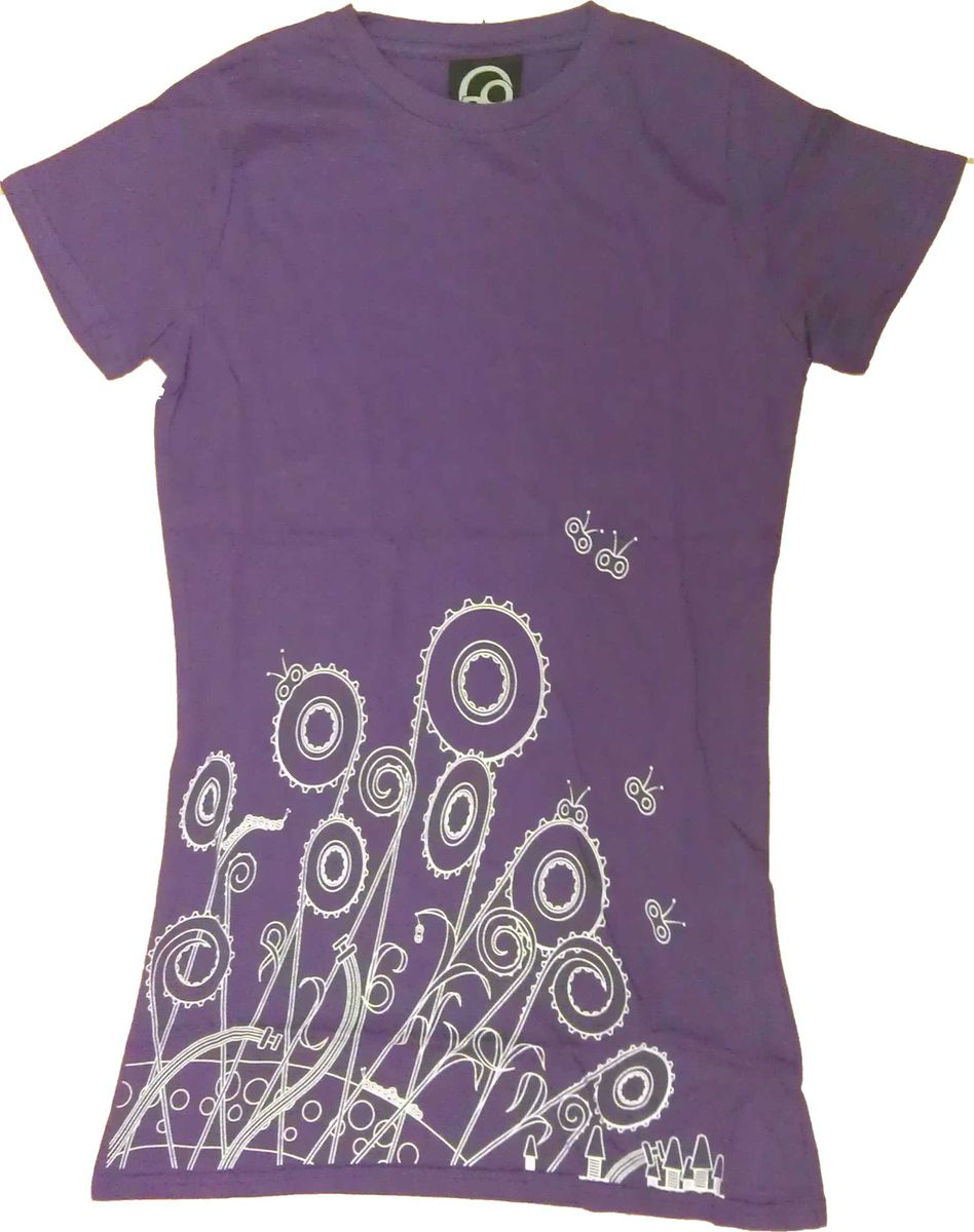 Flowers Organic T-Shirt - product image