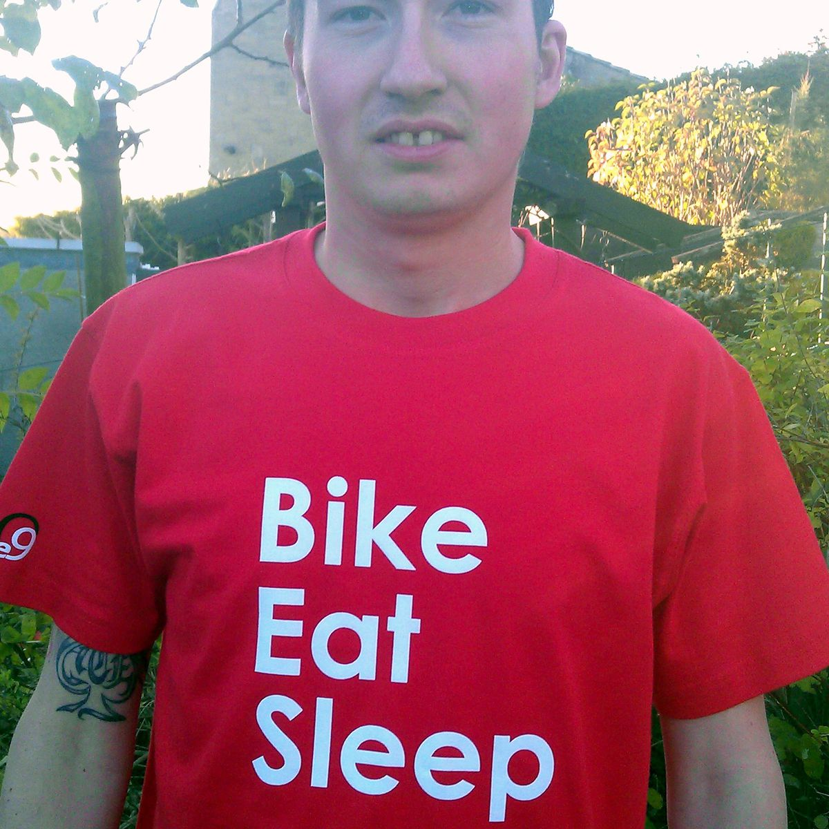 Bike Eat Sleep T-shirt - product images  of