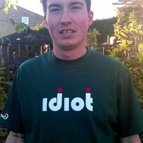 Idiot,T-shirt, Mountain Bike, MTB, Phase9, clothing, cycling, snowboarding