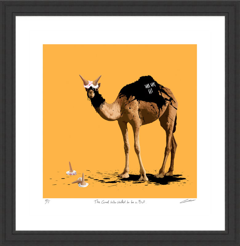 The Camel Who Wanted to be a Bull - product images  of