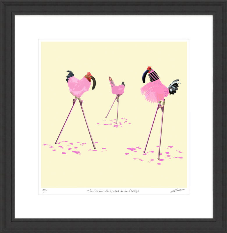 The Chickens Who Wanted to be a Flamingos - product images  of