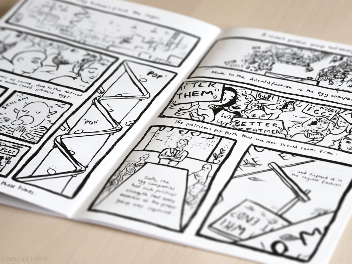 Small Stories Comic - The Flood / Eggs - product images  of