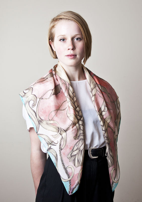 Braids Classic Scarf - product images  of