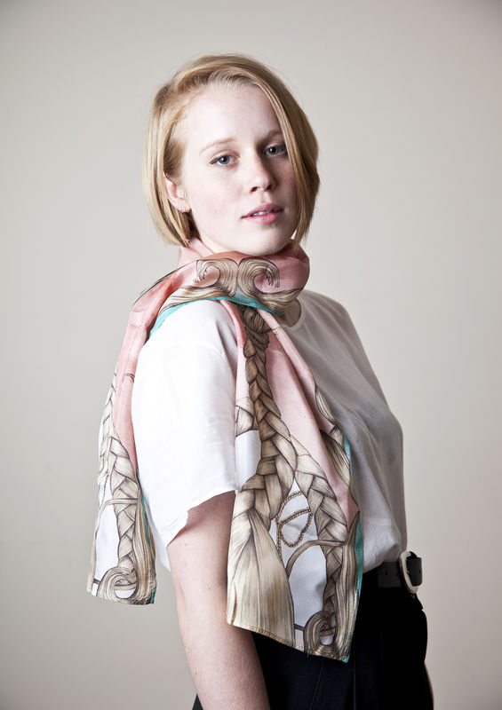 Braids Long Scarf - product images  of