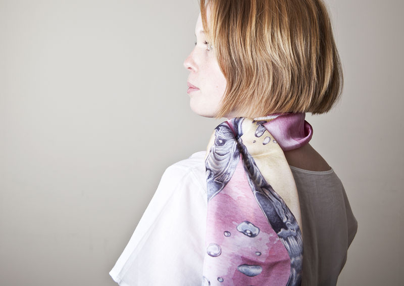Water Long Scarf - product images  of