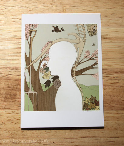 Illustrated,Art,Postcard,Print,-,Niche,In,Nature,Illustration,illustrated_cards,cards,illustration,uk,stationery,postcard,illustrated_postcard,postcard_print,nature,nature_illustration,modern_world,art_postcard,card,350gsm_paper_stock