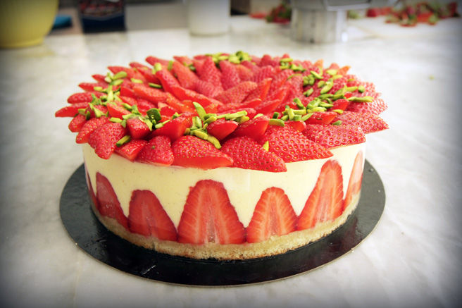 Plum's French Strawberry Workshop - product image