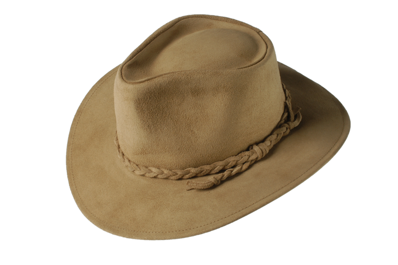 Sand Fer Suede Leather Hat - product images