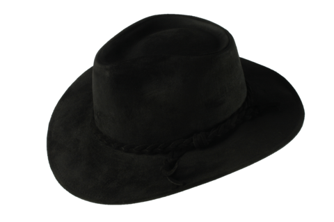 Black,Fer,Suede,Leather,Hat,Suede Hat, Leather Hat, Waterproof Hat, Argentine Hats, Argentinian Hats, Suede Hats, Leather Hats, Waterproof Hats, Estribos, Estribos Argentina, Polo Belts, Estribos Polo Belts