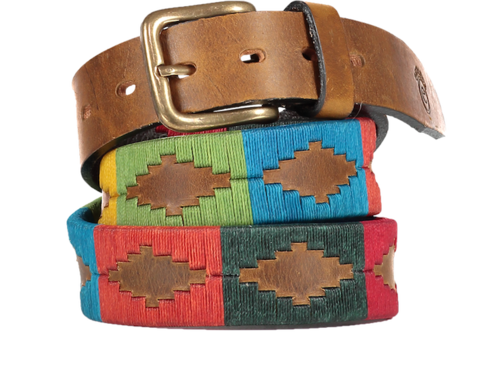 Arco,Iris,Polo,Belt,Arco Iris Polo Belt, Arco Iris, Rainbow, Polo Belt, Polo Belts, Gaucho Belt, Gaucho Belts, Leather Belt, Argentine Belts, Argentine Belt, Argentinian Belts, Argentinian Belt, Estribos, Estribos Argentina, Argentina, Polo