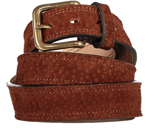 Brown Liso Carpincho Belt - product images