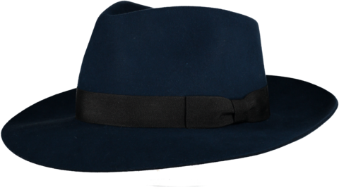 Blue,'Ha',Fur,Felt,Hat,Felt Hat, Blue Hat, Waterproof Hat, Argentine Hats, Argentinian Hats, Suede Hats, Leather Hats, Waterproof Hats, Estribos, Estribos Argentina, Polo Belts, Estribos Polo Belts