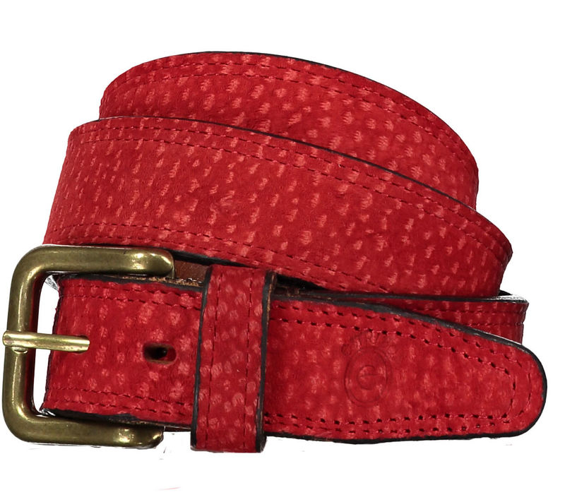 Red Liso Carpincho Belt - product images