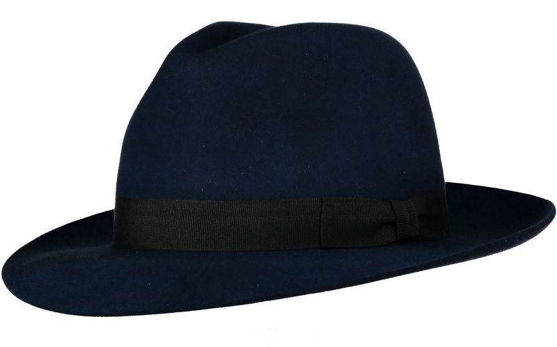 Blue Andres Fur Felt Trilby - product image