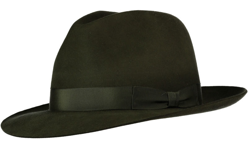 Green Andres Fur Felt Trilby - product image