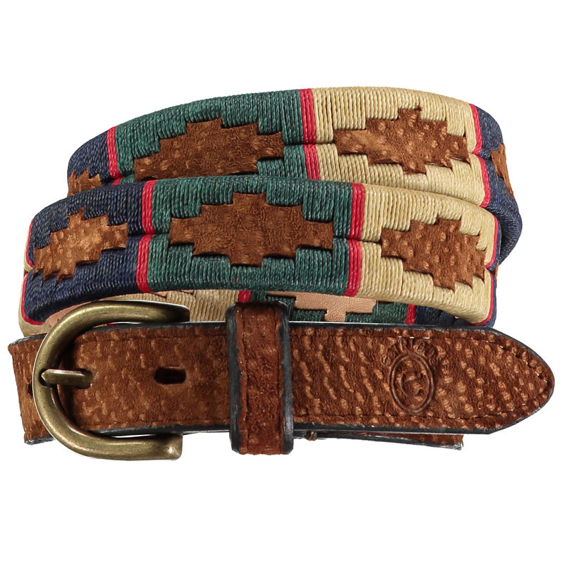David Fino Carpincho Polo Belt - product images