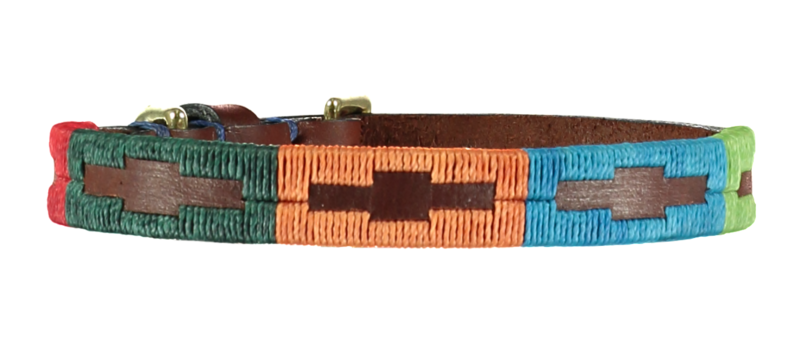 Extra Fino Arco Iris Polo Dog Collar - 1.5cm - product image