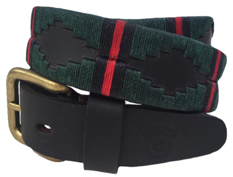 Gurkha,Welfare,Trust,Polo,Belt,Polo Belt, Burghley, Burghley horse Trials, charity belt, Gurkha, Nepal, Gurkha Welfare Trust, Argentine Belts, Argentinian Belts, Polo Belts, Belts, Estribos, Estribos Argentina, Gaucho Belts, Leather Belts, Gaucho Belt, Pampeano, Pioneros, Polka Dot Pie