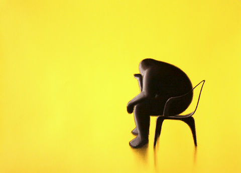Thinker,(lemon,yellow)