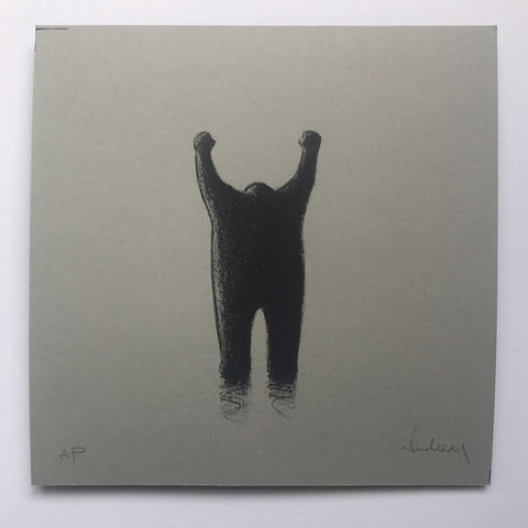 Yes!,(limited,edition,grey),mini,Screenprint