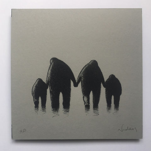 Family,Affair,(limited,edition,grey),mini,Screenprint