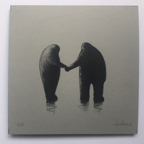 Forever,(limited,edition,grey),mini,Screenprint
