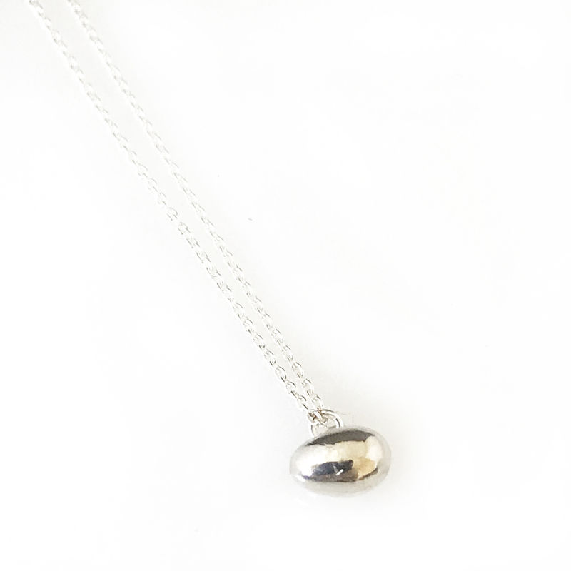 'Special Offer' - Silver egg necklace - product images  of