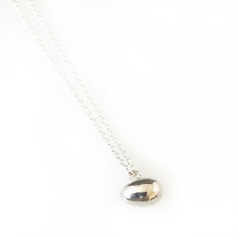 'Special,Offer',-,Silver,egg,necklace,silver jewellery, contemporary jewellery, silver egg necklace, brooch, egg pendant,