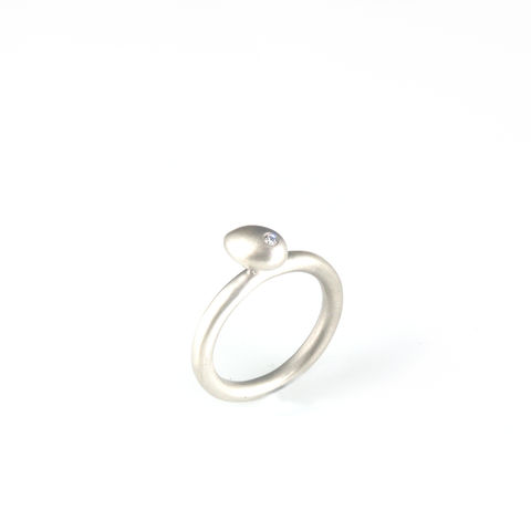 'Best,Before',-,0.8cm,silver,whole,egg,ring,with,diamond,silver jewellery, contemporary jewellery, egg and diamond, egg ring, silver egg ring