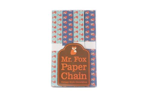 Mr,Fox,Paperchains,-,200,links,10metres,Mr Fox Paperchains - 200 links - 10metres