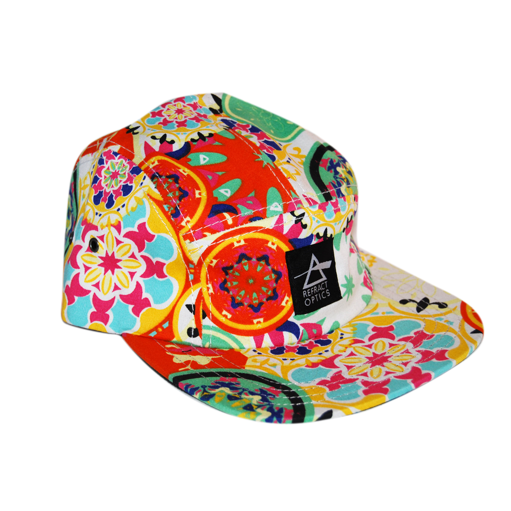 70% OFF Ltd Ed. Refract Optics 5 Panel Cap - Flower Power - product image