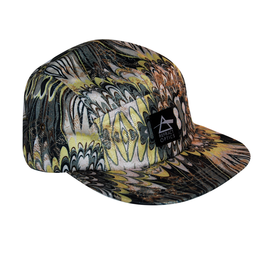 70% OFF Ltd Ed. Refract Optics 5 Panel Cap - Marble - product image