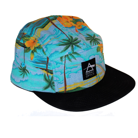 70%,OFF,Ltd,Ed.,Refract,Optics,5,Panel,Cap,-,Sky,Palm,Ltd Ed. Refract Optics 5 Panel Cap - Sky Palm