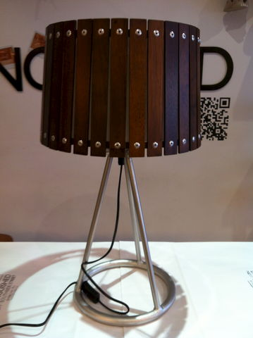 25%,OFF,Wooden,Slat,Lamp,25% OFF Wooden Slat Lamp