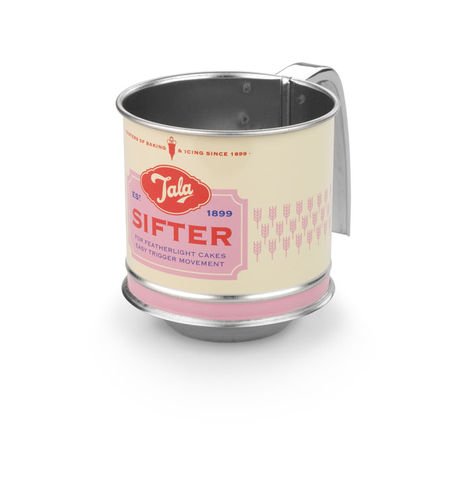 50%,OFF,Pastel,Pink,Mini,Flour,Sifter,By,Tala,Pastel Mini Flour Sifter By Tala